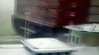 Παρά τρίχα τραγωδία...με πλοίο στην Κωνσταντινούπολη (vid)