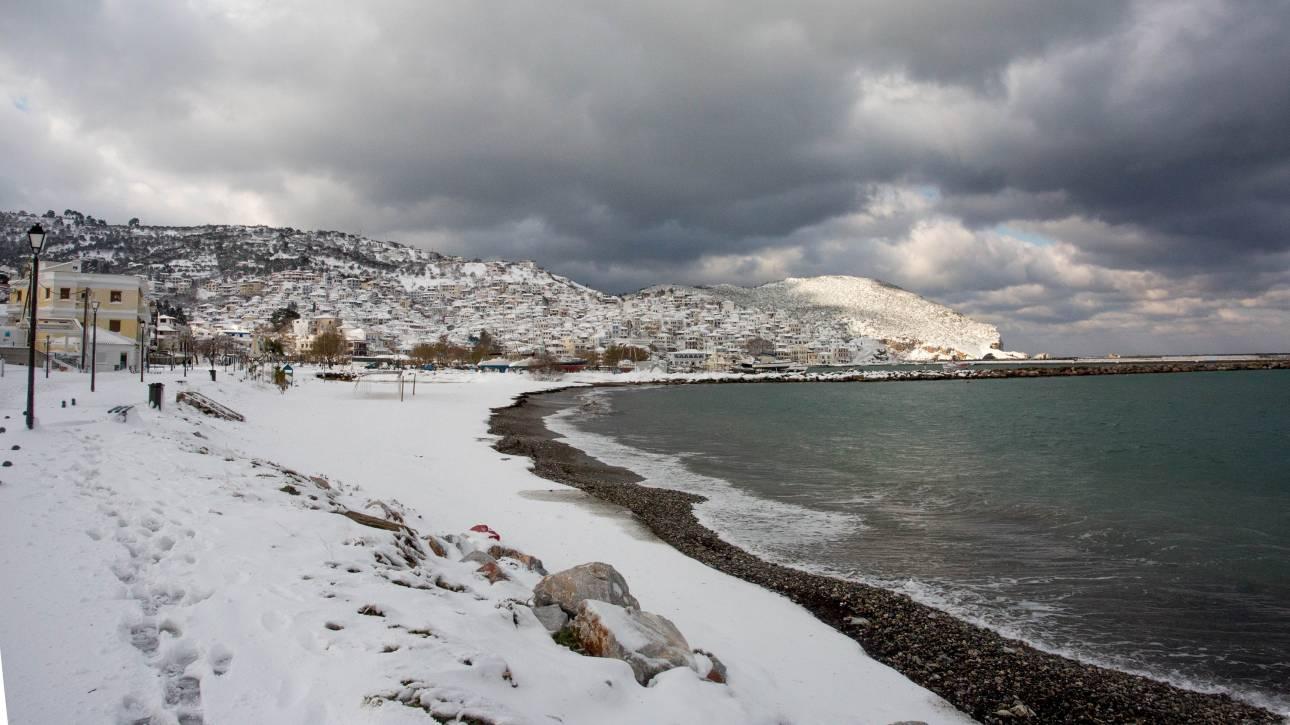 Έκτακτο δελτίο καιρού: Νέα επιδείνωση με χιόνια και ισχυρούς ανέμους
