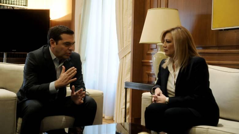 Φ. Γεννηματά: Η Κύπρος αποφασίζει και η Ελλάδα στηρίζει