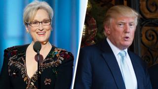 Ντόναλντ Τραμπ-Μέριλ Στριπ: η βεντέτα των Χρυσών Σφαιρών μόλις ξεκίνησε
