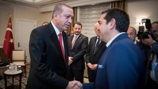 Τηλεφωνική επικοινωνία Τσίπρα-Ερντογάν για το Κυπριακό