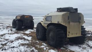 Το Sherp ATV πάει παντού και δεν σταματά πουθενά