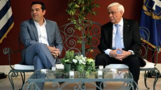 Κυπριακό: Στο Προεδρικό Μέγαρο ο Αλ. Τσίπρας για ενημέρωση του ΠτΔ