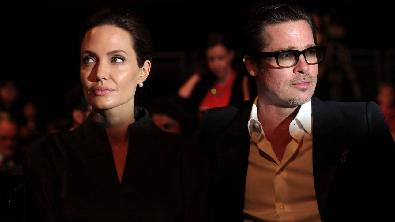 Tζολί-Πιτ. Τι συμφώνησαν στην πρώτη κοινή ανακοίνωση τους μετά το διαζύγιο
