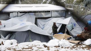 Στεγάστηκαν 75 άνθρωποι από τον καταυλισμό της Μόριας