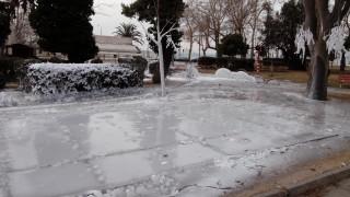Θεσσαλονίκη: Μετέτρεψαν σε χιονοδρομική πίστα την Τούμπα (vid)