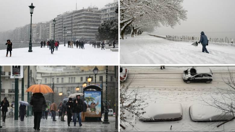 Κακοκαιρία: Για 7η μέρα στο έλεος του χιονιά, της βροχής και του ψύχους