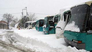 Εγκλωβίστηκαν επιβάτες σε λεωφορείο του ΚΤΕΛ