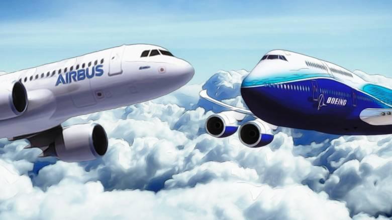 Στα ύψη ο ανταγωνισμός στις πωλήσεις επιβατικών αεροσκαφών