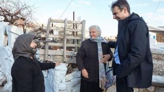 Η επίσκεψη του Μητσοτάκη στην Ψέριμο - Τι είπε για την Τουρκία (pics&vid)