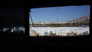 Ιστορίες από το χιονισμένο γήπεδο του μπέιζμπολ (pics)