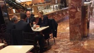 Για καφέ στο Trump Tower η Μαρίν Λεπέν (pic)