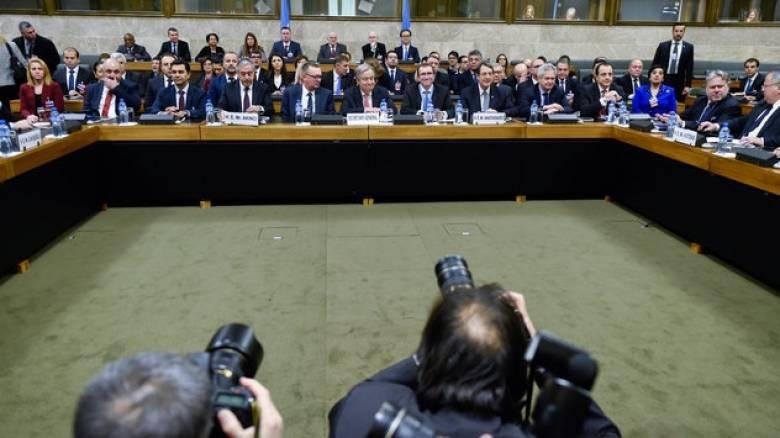 Κυπριακό: Νέα Διάσκεψη στις 18 Ιανουαρίου – Η κοινή ανακοίνωση