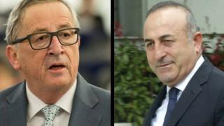 Κυπριακό: Η απάντηση «τάπα» του Γιούνκερ στον Τσαβούσογλου