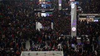 Κίνα: Η ασύλληπτη έξοδος για την Πρωτοχρονιά σε αριθμούς (vid&pics)