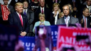 Απεσταλμένος των ΗΠΑ στις Βρυξέλλες: ο Φάρατζ παραπλάνησε τον Τραμπ