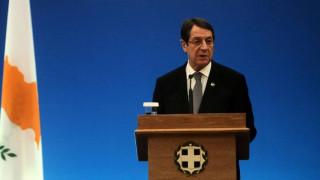 Αναστασιάδης: Ικανοποίηση για την παρουσία της ΕΕ στη Διάσκεψη της Γενεύης