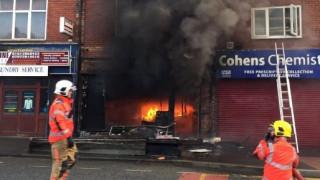 Ισχυρή έκρηξη σε καφετέρια στο Μάντσεστερ (pics&vid)