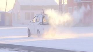 Βίντεο: Παγωμένη ομίχλη στην Κίνα