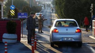 Χειροπέδες σε εννέα Τούρκους συνταγματάρχες στα κατεχόμενα