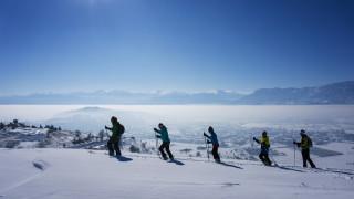 Ουρές, βρισιές και σπρωξίματα στο Χιονοδρομικό Κέντρο Παρνασσού (vid)