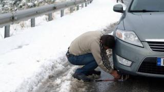 Αντιολισθητικές αλυσίδες και δυσκολίες σε Αρκαδία, Μεσσηνία και Κορινθία