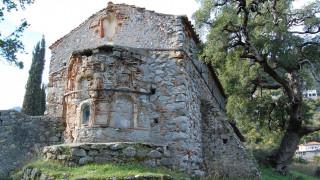 Βυζαντινός ναός στη Λακωνία κινδυνεύει να καταρρεύσει