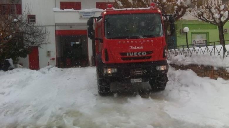 Εξαφανίστηκε 78χρονη γυναίκα στα χιονισμένα Άγραφα