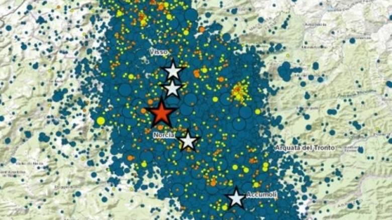 Σεισμός Ιταλία: Μία δόνηση κάθε τεσσεράμισι λεπτά