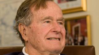 Τι αναφέρουν οι γιατροί για την υγεία του Τζορτζ Μπους