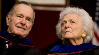Στην Εντατική ο Τζορτζ Μπους - Στο νοσοκομείο και η σύζυγός του Μπάρμπαρα