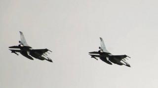 F16 τούμπαρε μετά την προσγείωσή του στον Άραξο