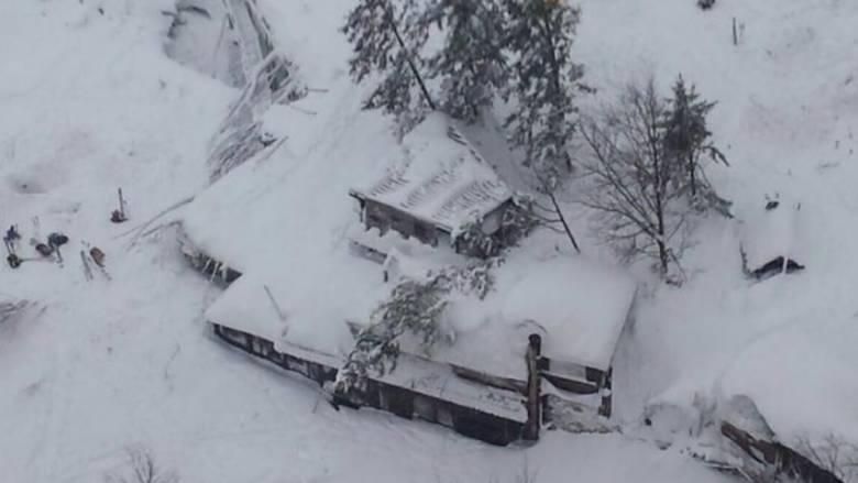 Ιταλία: Δεκάδες νεκροί από χιονοστιβάδα σε ξενοδοχείο που χτύπησε ο σεισμός