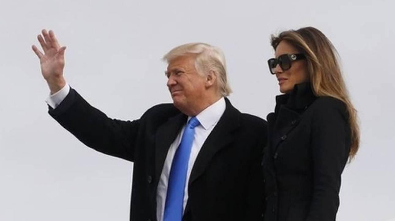 Ορκωμοσία Τραμπ:  Έφτασε στην Ουάσινγκτον ο νέος πρόεδρος (pics&vid)