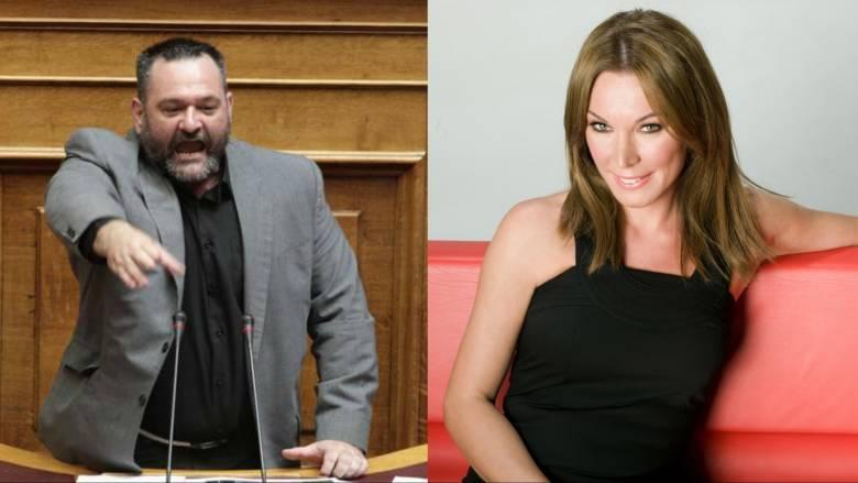 Μήνυση βουλευτή της Χρυσής Αυγής κατά της Τατιάνας Στεφανίδου