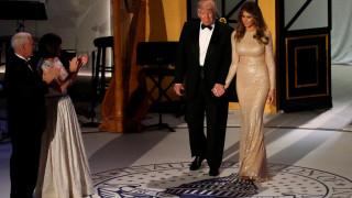 Ορκωμοσία Τραμπ: το στιλ των γυναικών του προέδρου