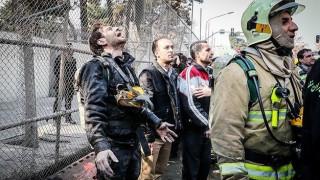 Ιράν: Λίγες οι ελπίδες για επιζώντες από την κατάρρευση του ουρανοξύστη (pics)