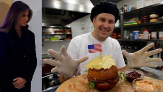Ορκωμοσία Τραμπ: Το burger που πήρε το όνομα της Πρώτης Κυρίας (pics)