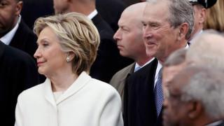 Ορκωμοσία Τραμπ: Η κακόκεφη Χίλαρι Κλίντον (pics)