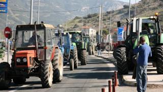 Και οι αγρότες της Λάρισας στο μπλόκο της Νίκαιας