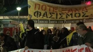 Θεσσαλονίκη: Αντιφαστιστικές διαδηλώσεις για τα επεισόδια στο Πέραμα