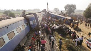 Ινδία: Αυξήθηκε ο αριθμός των νεκρών από τον εκτροχιασμό αμαξοστοιχίας