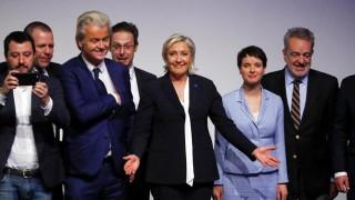 Ακροδεξιά κόμματα από τέσσερις χώρες συμμαχούν κατά της Ευρώπης