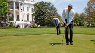 Η πρώτη μέρα του Μπαράκ Ομπάμα ως πολίτη (vid)
