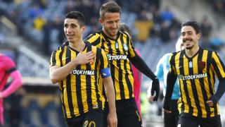 Super League: ντεμπούτο Χιμένεθ με άνετη νίκη της ΑΕΚ