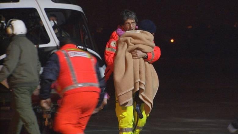 Ιταλία χιονοστιβάδα: Άλλη μία γυναίκα ανασύρθηκε νεκρή