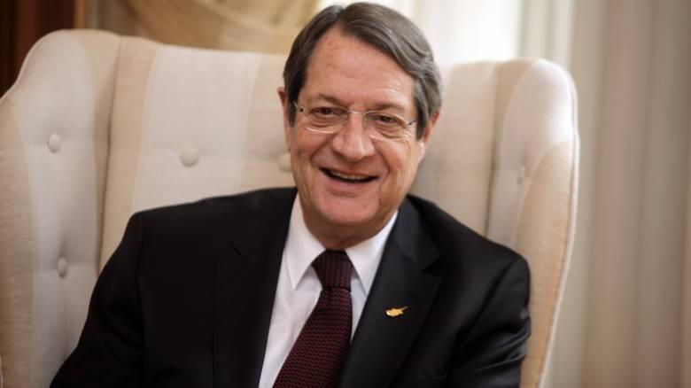 Αναστασιάδης: «Success story» η επαναπροσέγγιση Ελληνοκυπρίων και Τουρκοκυπρίων