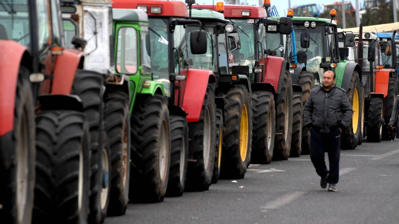Image result for Που στήνονται μπλόκα αγροτών από την Δευτέρα και τις επόμενες μέρες