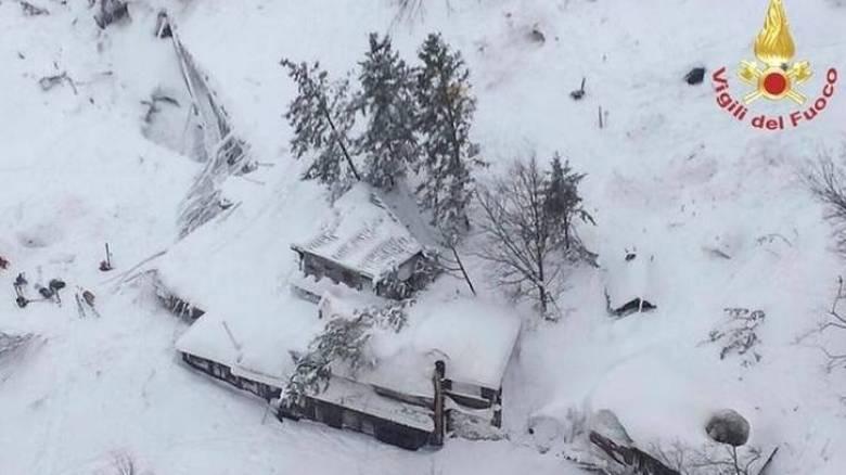 Χιονοστιβάδα Ιταλία: Αυξήθηκαν σε 23 τα θύματα