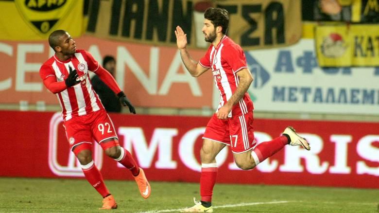 Κύπελλο Ελλάδας: με Ανσαριφάρντ το 1-1 του Ολυμπιακού στο Βικελίδης